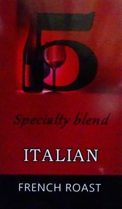 イタリアンブレンド(フレンチロースト=深煎り) コーヒー豆