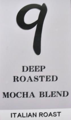 深煎りモカブレンド(極深煎り・イタリアンロースト) 200g コーヒー豆