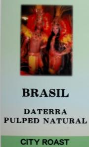 ブラジル ダテーラ農園 パルプトナチュラル(中炒り・シティロースト) コーヒー豆