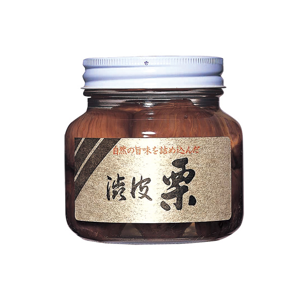 栗渋皮煮(瓶入り)