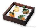 東濃檜はつり料理箱(A)陶器付