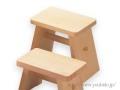 ヒバ風呂椅子(大)