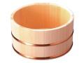 ひのき湯桶(銅タガ)