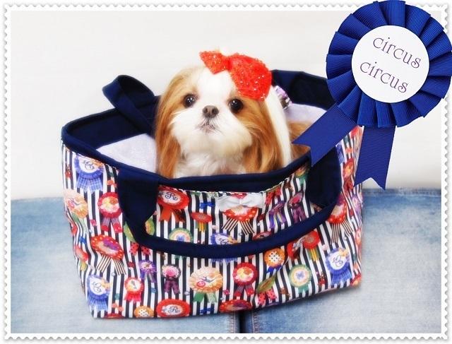 CircusCircus【サーカスサーカス】 TRICK☆EmblemライトキャリーBag【犬グッズ スリング】
