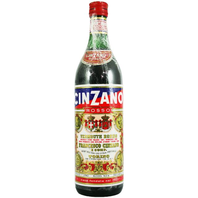【オールドボトル】チンザノ ロッソ 1970年代流通 16.5% 1L