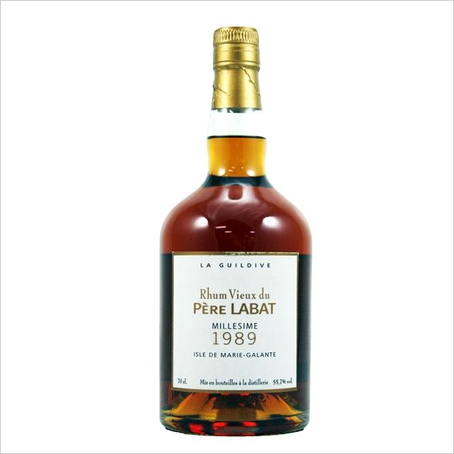 【黒糖、黒蜜、完熟バレンシアオレンジ】ペールラバ ミレジム 1989 55.7% 700ml