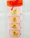 ぐんまちゃんプリントクッキー【王冠+お花】