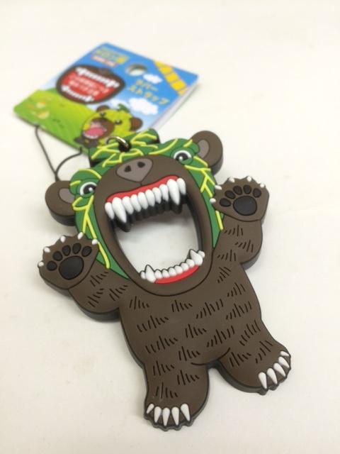 メロン熊 ラバーストラップ
