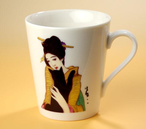 夢二マグカップ(黒船屋)