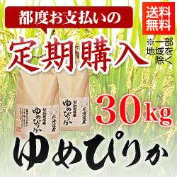 【都度お支払い 定期購入】清流ゆめぴりか 30kg