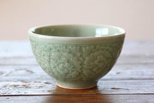 ごはん茶碗 M ナチュラルグリーン