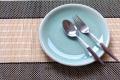 丸皿22cm プレーン オーシャングリーン