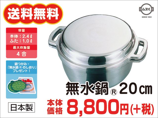 無水鍋20�小
