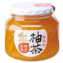 柚茶(木頭) 400g