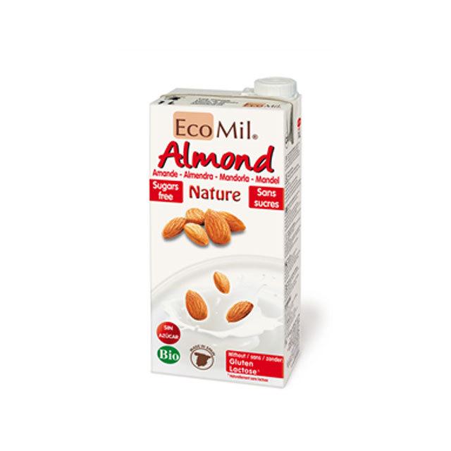 アーモンドミルク EcoMil ストレートタイプ(ブリック) 1000ML