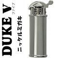 デューク5 日本製 オイルライターDUKE(デューク) フリント式オイルライター/ニッケルミガキ画像