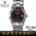 スイスミリタリー SWISS MILITARY エレガント 腕時計 メンズ ML-180画像