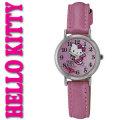 シチズン/ハローキティ腕時計 Q491-630 ピンクの愛のハートが回る画像