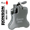 ロンソン ライター バンジョー RONSON Banjo オイルライター R01-0025 クロームサテン画像
