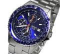 送料無料 SEIKOメンズ腕時計パイロットクロノグラフ バックル名入れ彫刻セイコー(SEIKO SND255PC) ギフト・誕生日プレゼントに最適画像