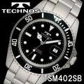 TECHNOS SWISS 腕時計 メンズ ダイバーズウォッチ 10気圧防水 テクノス TSM402SB画像