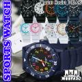 シチズン時計Q&Q シチズン キューアンドキュー 腕時計 10気圧防水 スポーツウォッチ 10種類画像