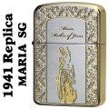 ZIPPO(ジッポーライター)1941レプリカ 聖母 マリア SG シルバー/ゴールド画像