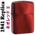 zippo(ジッポーライター)1941年レプリカ NEO RED ネオ レッド 1941NEO-R2画像