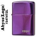 zippo(ジッポーライター)24747ABYSS(アビス)ZIPPOロゴ入り #24747ZL画像
