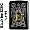 zippo(ジッポーライター)チョイスコレクション/ブラックアイス KING #28798画像