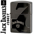 zippo(ジッポーライター)Jack Daniel's Old No. 7 #28817 Armor Black Ice画像