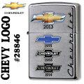 zippo(ジッポーライター)CHEVROLET(シボレー)歴代ロゴ Street Chrome #28846画像
