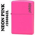 zippo(ジッポーライター)無地 Neon Pink(ネオンピンクカラー)ジッポロゴ入り #28886ZL画像