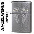 zippo(ジッポーライター)ANGELWINGS #29069 Chrome Arch画像