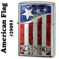 zippo(ジッポーライター)American flag #29095 high polish chrome画像