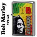 zippo(ジッポーライター)Bob Marley ボブ・マーリー #29126 Satin Chrome画像
