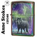 zippo(ジッポーライター)Anne Stokes (アン・ストークス) Wolf ウルフ スペクトラム画像