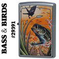 zippo BASS & BIRDS (OUTDOORS) #29391 2016年発売画像