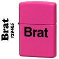 zippo(ジッポーライター) Brat neon-pink ネオンピンク 29405画像