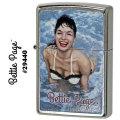 zippo(ジッポーライター)ピンナップガール Bettie Page (ベティページ) ストリートクローム画像