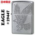 zippo(���åݡ��饤����)Eagle �������� �ǥ����� ��29447 Brushed Chrome����