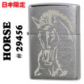 zippo(���åݡ��饤����)Horse �� ��29456 Brushed Chrome����