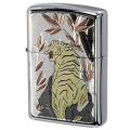 ZIPPO/電鋳シリーズジッポーライター 伝統和柄 虎