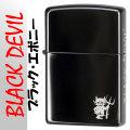 zippo(ジッポーライター)ブラックデビル ブラック エボニー画像