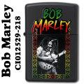 zippo(ジッポーライター)BOB MARLEYブラックマット CI012529-218 画像