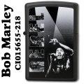 zippo(ジッポーライター)BOB MARLEYブラックマット CI015655-218 画像