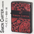 [送料無料]ZIPPO( ジッポー ライター) SIMON CARTER サイモンカーターベイズリーBOX-IR