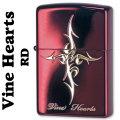 zippo(ジッポーライター)Vine Hearts ヴァインハート ネオレッド VH-R画像