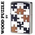 zippo(ジッポーライター)ウッドパズル Wood Puzzle 両面加工 SV画像