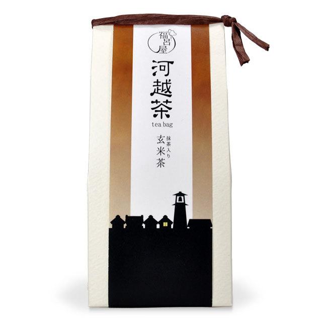 河越茶ティーバッグ 抹茶入り玄米茶
